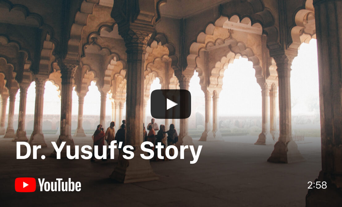 YouTube video - Dr. Yusuf's Story | Be My Eyes in Gujarat, India