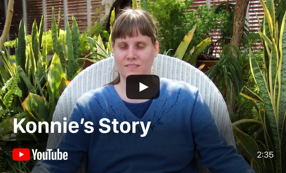 YouTube video - Konnie's Story