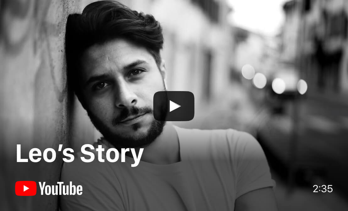 YouTube video - Leo's Story