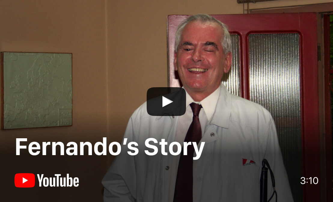 Listen to Fernando's story on YouTube