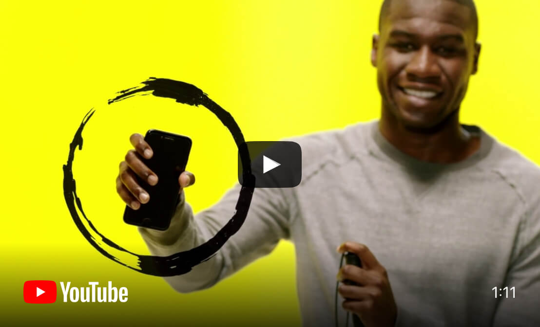 Watch Phone It Forward campaign video on YouTube