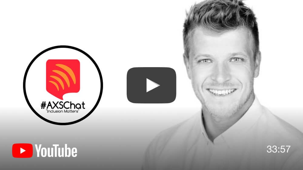 Listen to AXSChat's interview with Be My Eyes CCO, Alexander on YouTube.