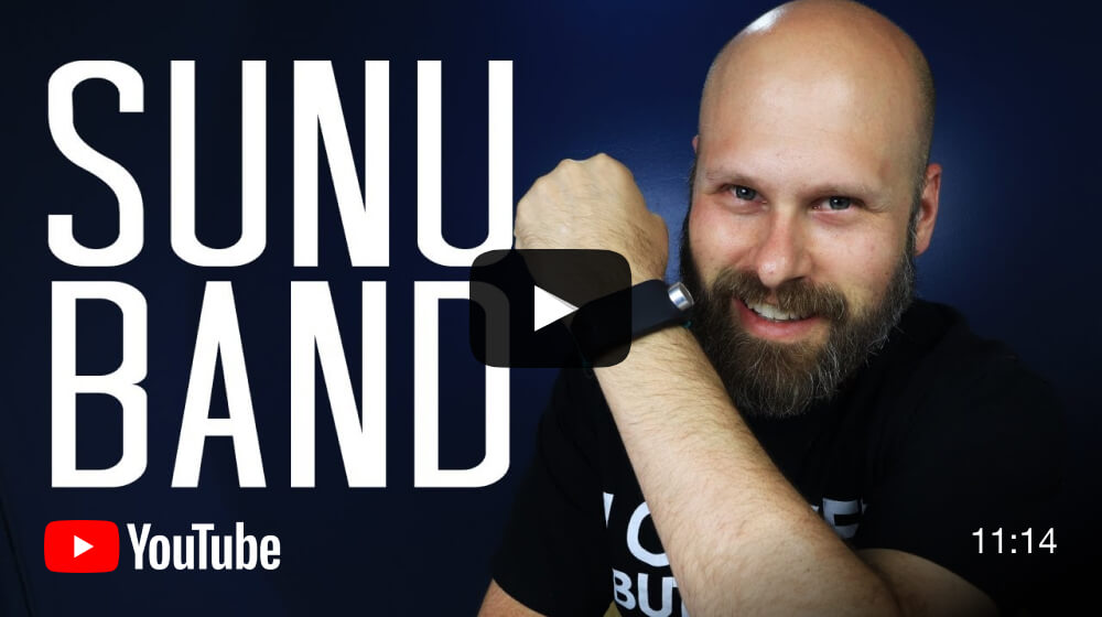 YouTube review of the Sunu Band by The Blind Life - video.