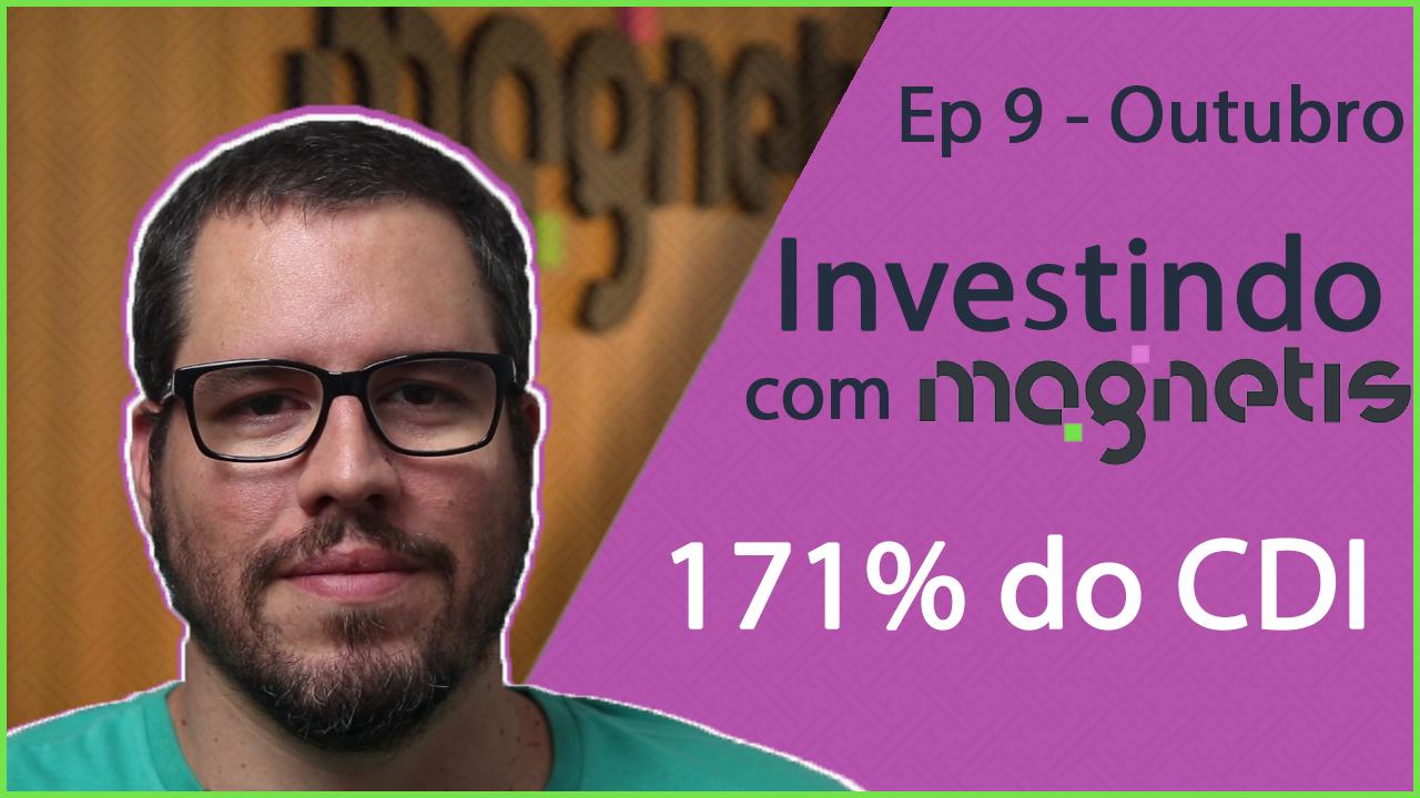 Magnetis - Rentabilidade - 171% do CDI