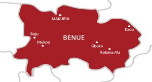 map of benue state nigeria showing local goverments