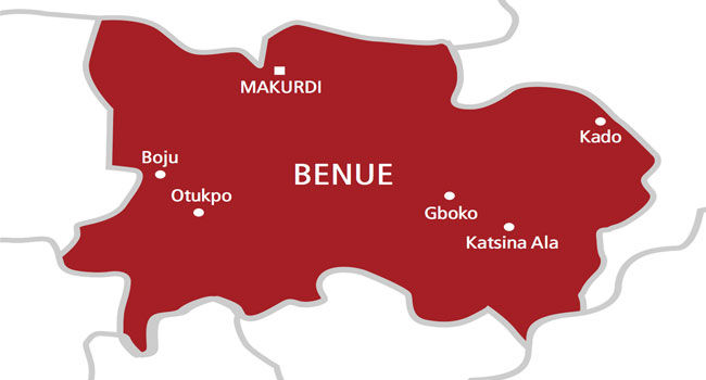 map of benue state showing local goverments