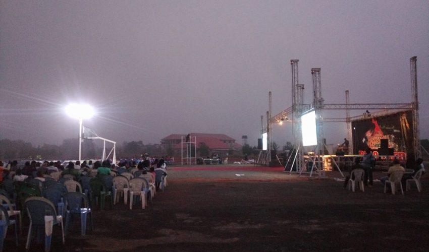 mark d ball basketball tournament arena in otukpo benue state