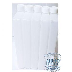 Paquete de 20 botellas refrigerantes sin gel para termo de 45 litros Cat. AIR-BRF AIRHO