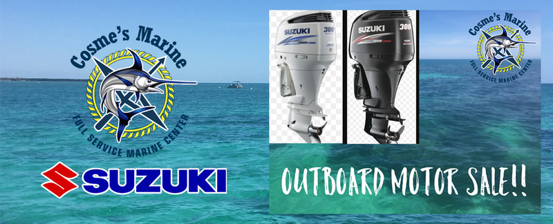 cosme's marine offers suzuki outboard sales and repair in key west, fl