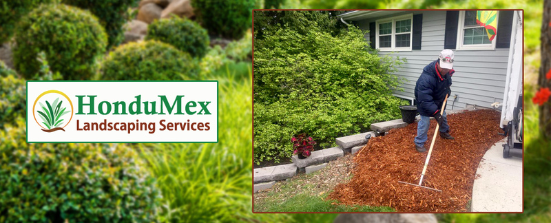 HonduMex Landscaping Services, LLC	 Features Adding Mulch Services in Madison, WI