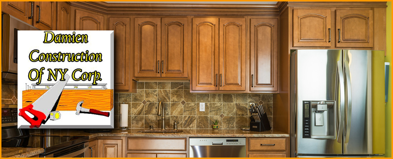 Damien Construction Of NY Corp. Provides Custom Cabinetry Services in Fresh Meadows, NY