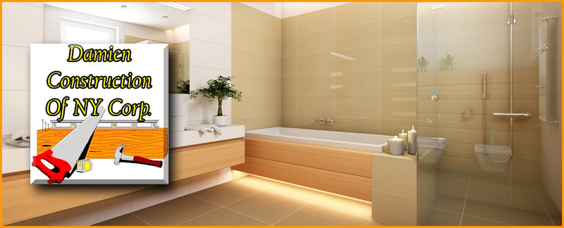 Damien Construction Of NY Corp. Offers Bathroom Renovation Services in Fresh Meadows, NY