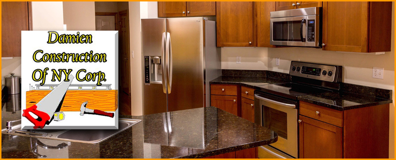 Damien Construction Of NY Corp. Features Kitchen Renovation Services in Fresh Meadows, NY