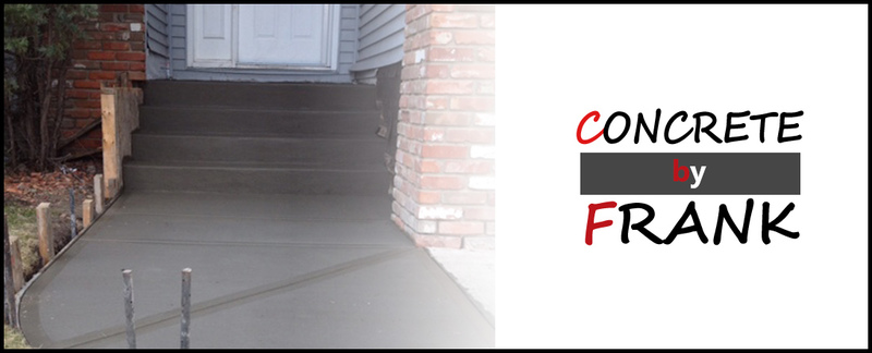 Concrete By Frank provides concrete services in Stony Plain, AB