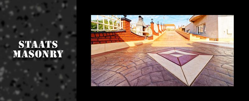Staats Masonry Performs Decorative Concrete in  Ravena, NY