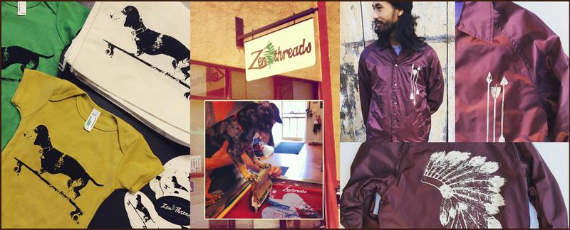 Zen Threads Creates Screen Printed Apparel in Sacramento, CA