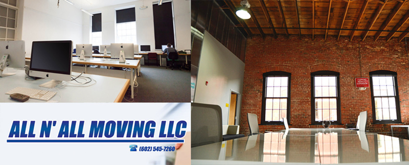 All N All Moving LLC specializes in office moving in Peoria, AZ