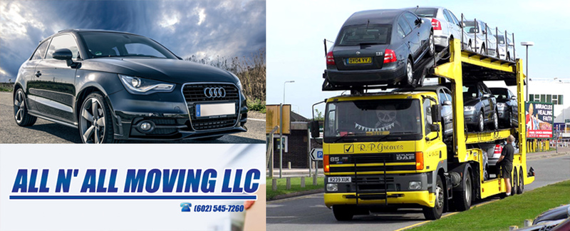 All N All Moving LLC specializes in vehicle transport in Peoria, AZ