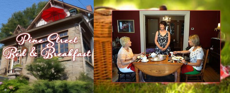 Pine Street Inn B&B provides accommodations in Brockville, ON