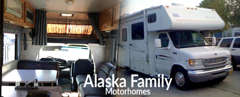 Alaska Family Motorhomes Provides Alaska RV Rentals in Anchorage, AK