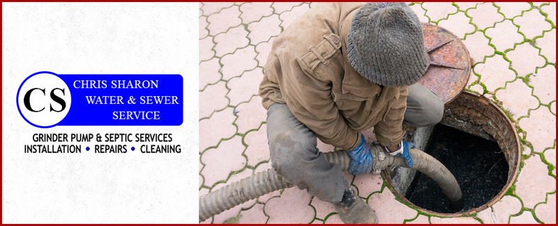Chris Sharon Water and Sewer Service Offers Septic & Sewage Pumping in Richmond, KY