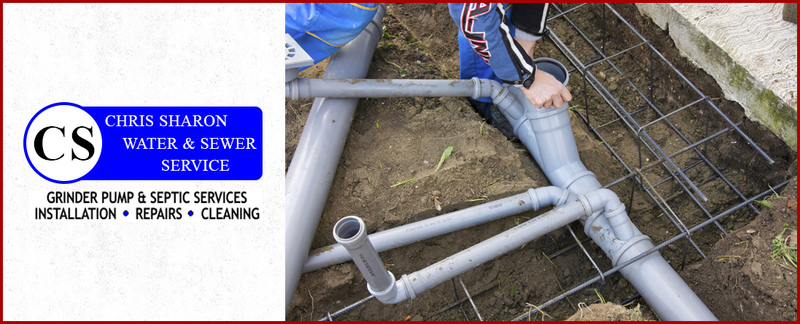 Chris Sharon Water and Sewer Service Offers Septic System Installation in Richmond, KY