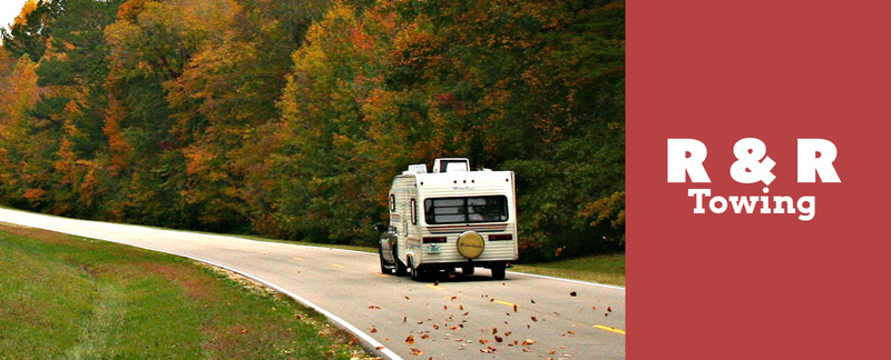 R & R Towing offers RV Towing Services in Green Forest, AR