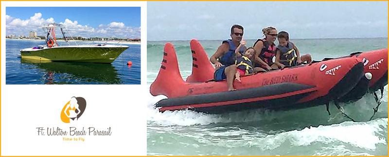 Walton Beach Parasail Destin Offers Rentals from Watersports in Miramar Beach, FL