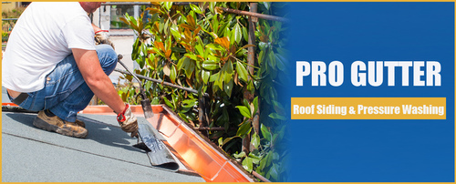Pro Gutter Roof Siding Amp Pressure Washing Provides Gutter