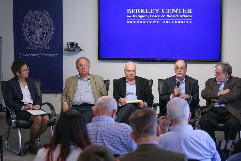 Panelists discuss the globalization of the American culture wars.