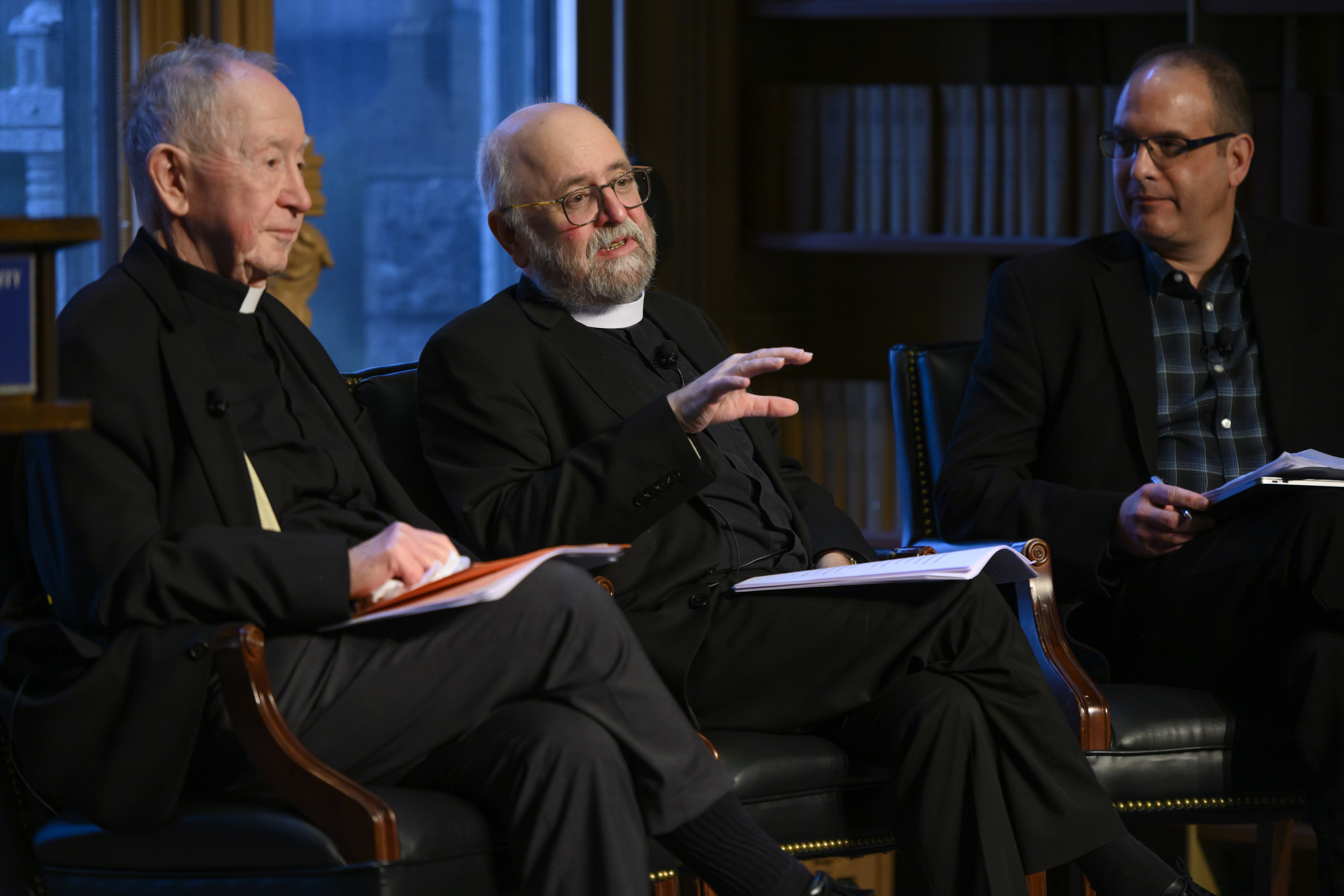 John W. O'Malley, S.J. and Frederick Aquino join Mark Chapman for a discussion.