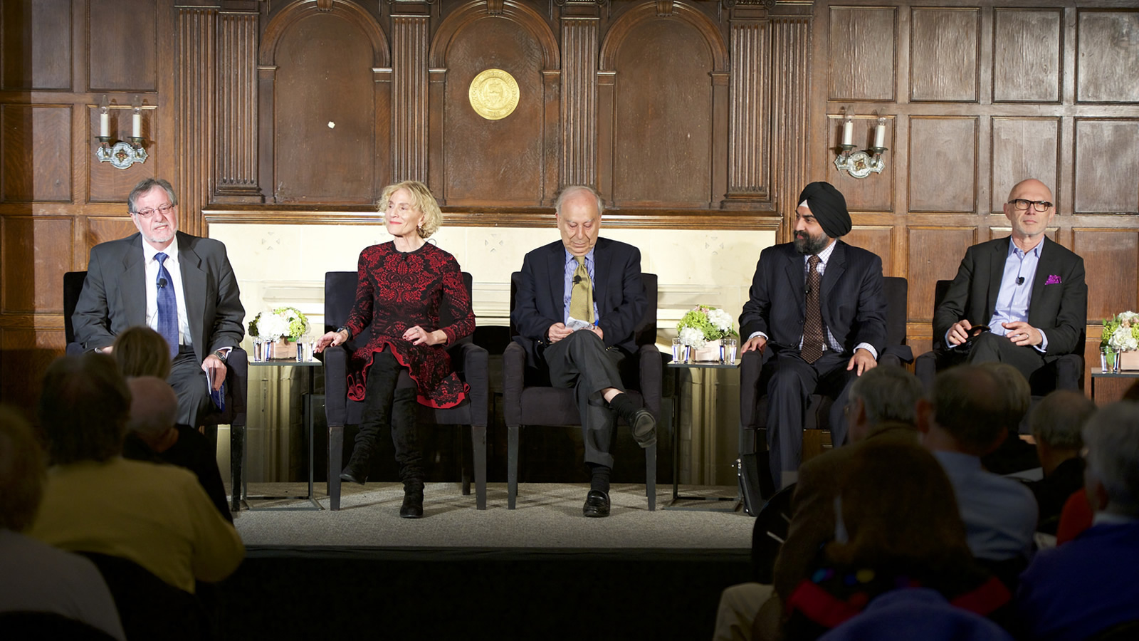 Panelists discuss lessons learned and paths forward in interfaith dialogue.