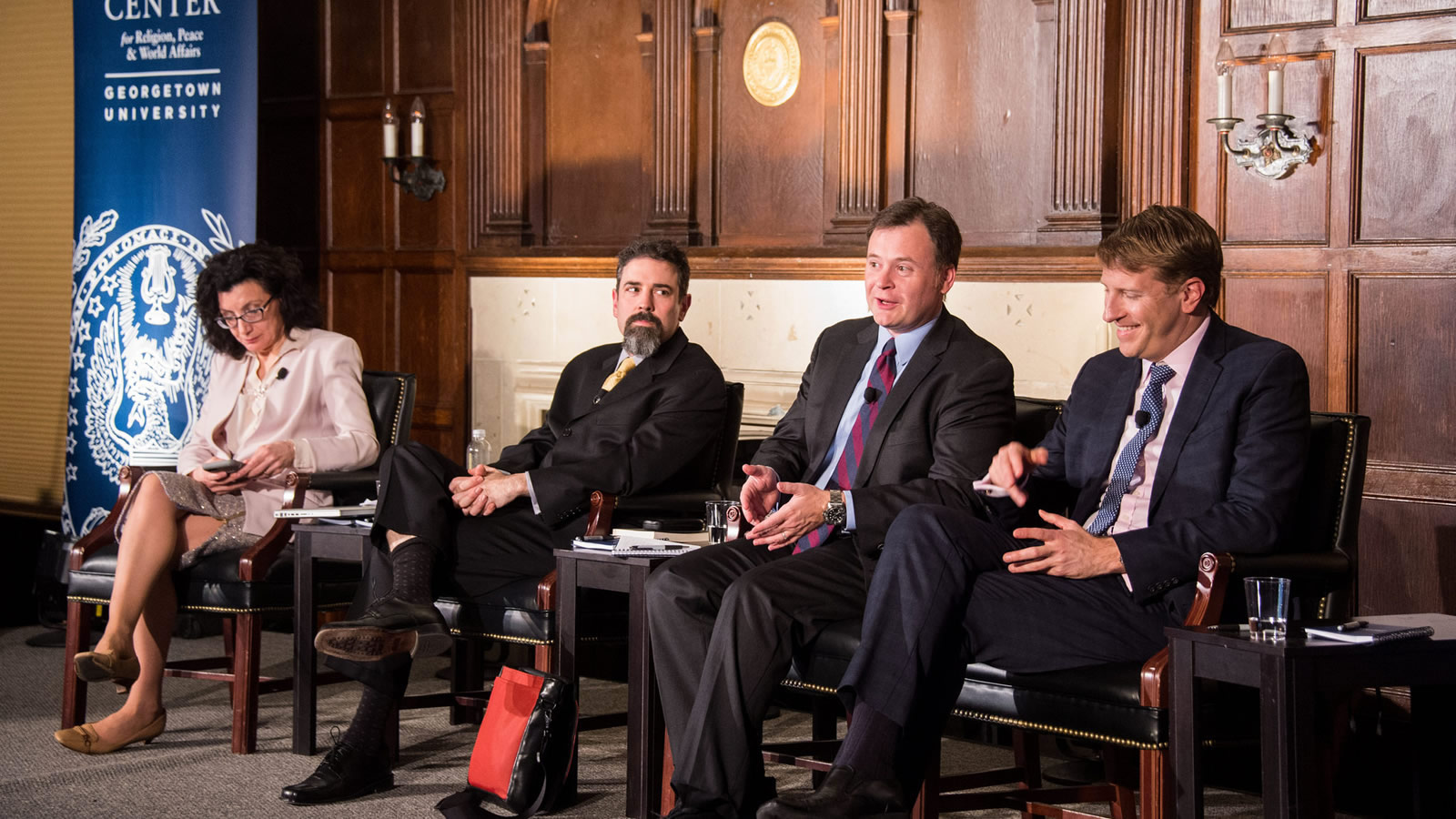 Panelists discuss the nexus of security, religion, and global governance.