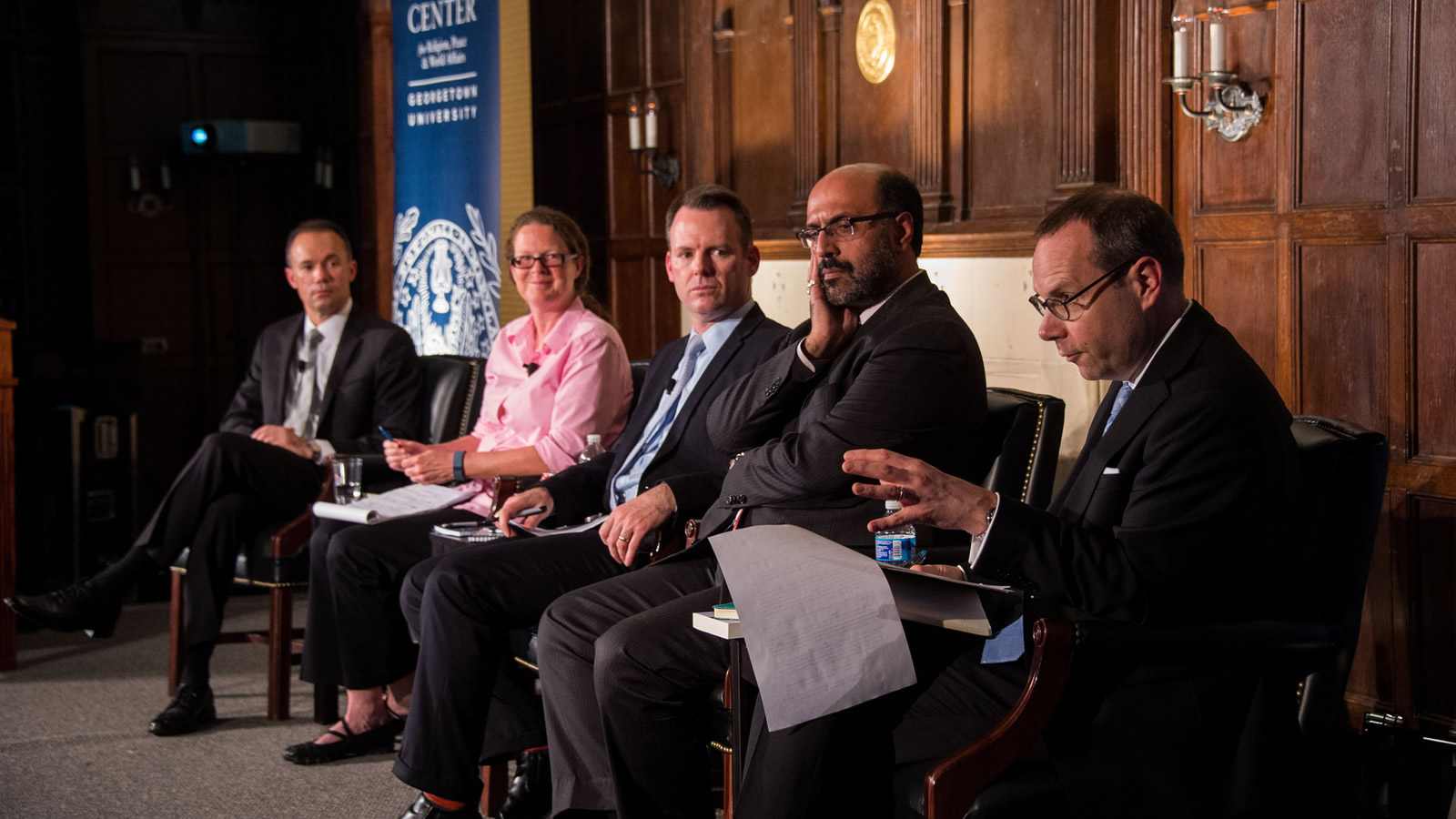 Panelists consider ways to counter global religious violence.