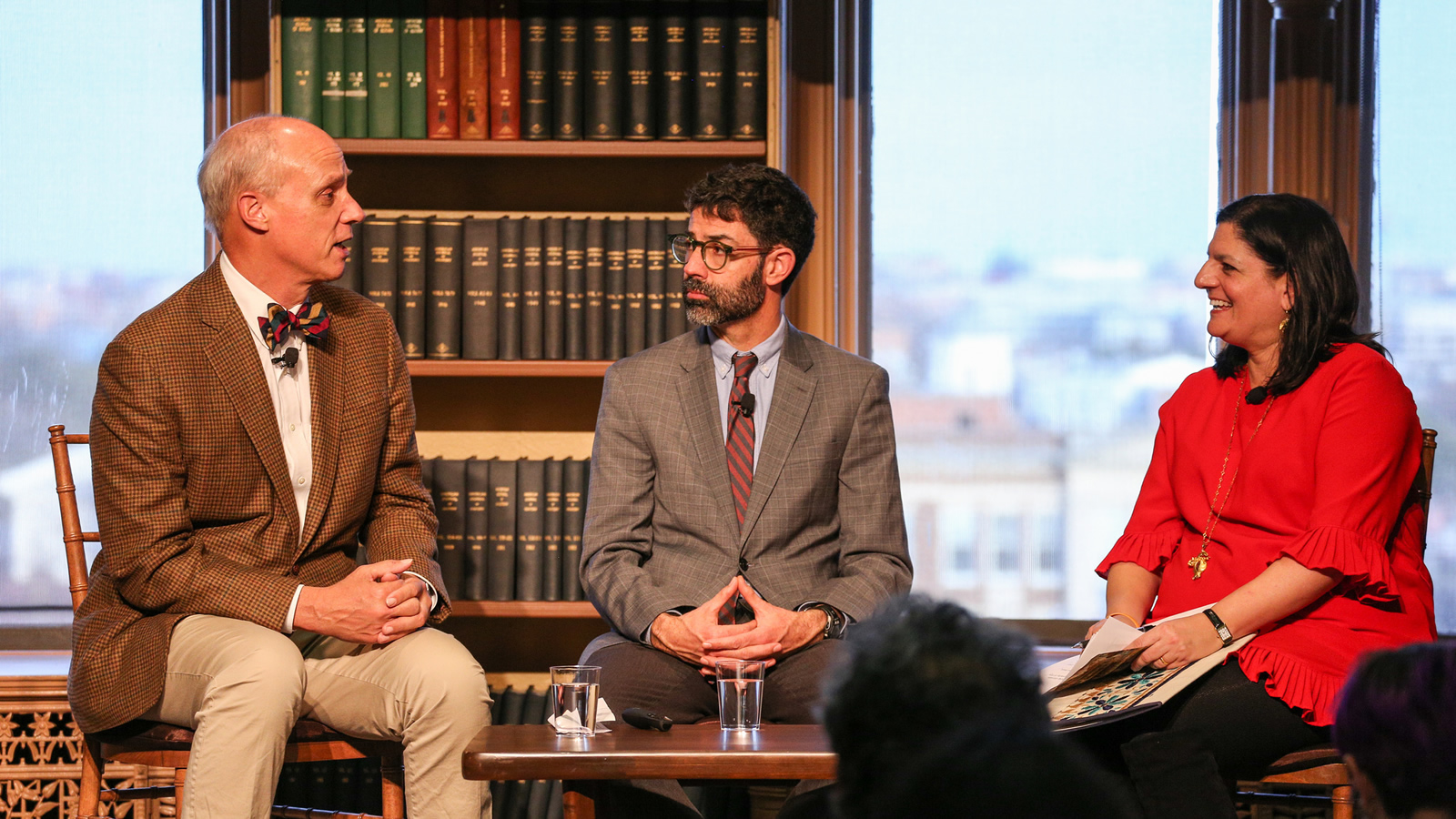 George Steinmetz, Evan Berry, and Indira Lakshmanan discuss how journalism can inspire action on climate change.