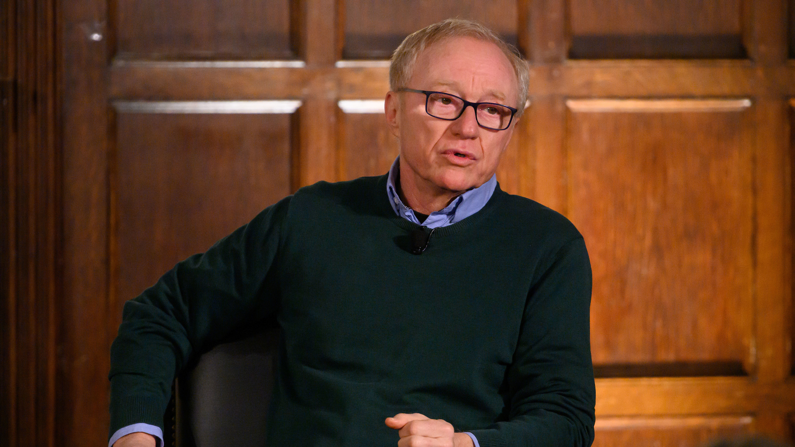 David Grossman discusses how writing allows him to understand different points of view.