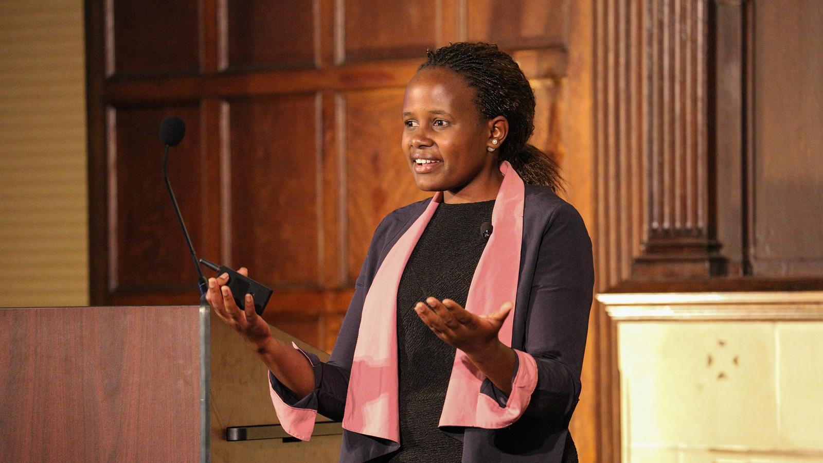 Dr. Mireille Twaiyigira tells her story.