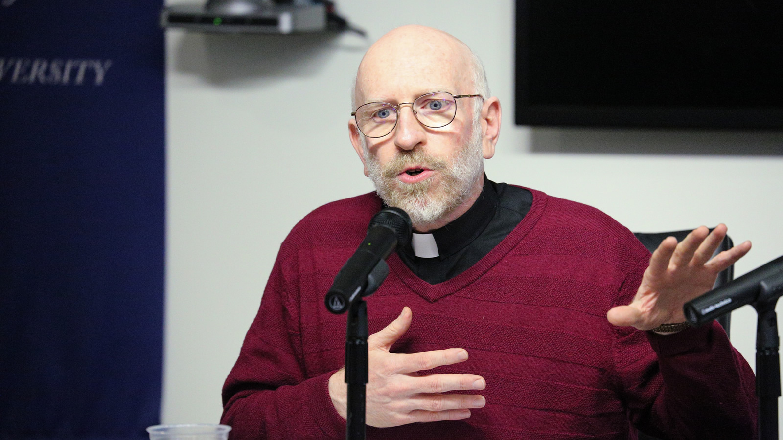 Rev. Thomas Massaro, S.J., discusses the political views of Pope Francis