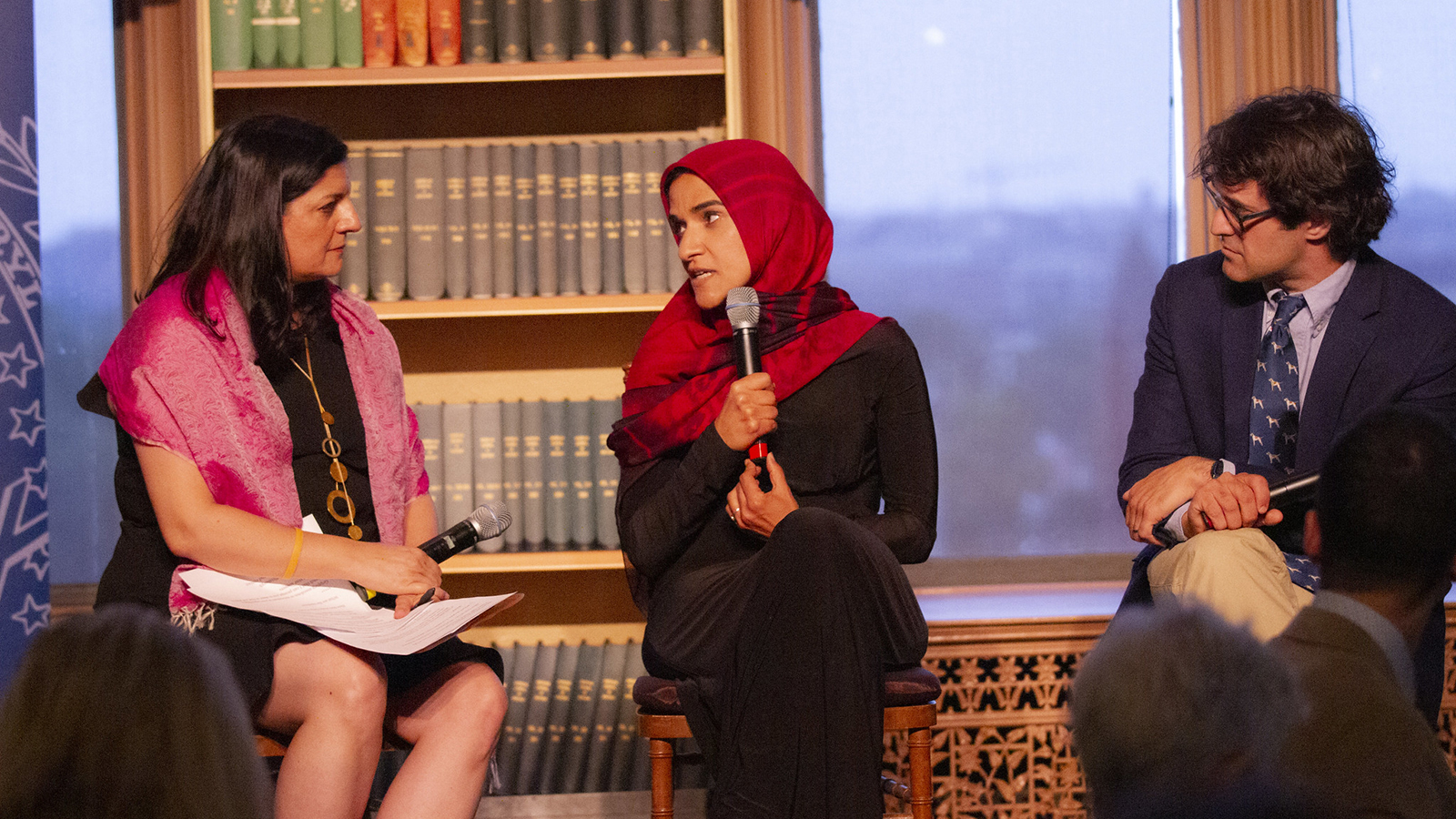Dalia Mogahed talks with Indira Lakshmanan and Mark Oppenheimer.