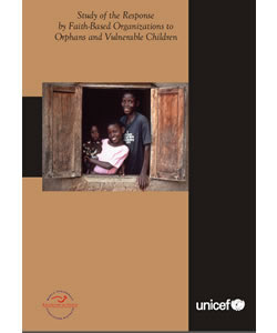 Study of the Response by Faith-Based Organizations to Orphans and Vulnerable Children