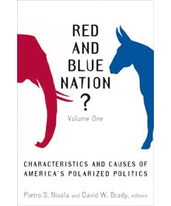 Red and Blue Nation? Volume I: Characteristics and Causes of America's Polarized Politics