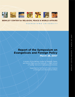 Report of the Symposium on Evangelicals and Foreign Policy