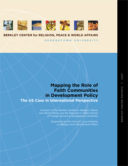 Mapping the Role of Faith Communities in Development Policy: The U.S. Case in International Perspective