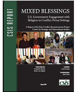 Mixed Blessings: U.S. Government Engagement with Religion in Conflict-Prone Settings