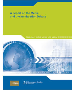 Democracy in the Age of New Media: A Report on the Media and the Immigration Debate