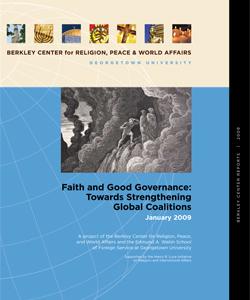 Faith and Good Governance: Towards Strengthening Global Coalitions