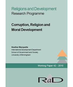 Corruption, Religion, and Moral Development