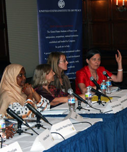 An Exchange on Women's Roles for Peace: Is Religion a Source of Strength or an Obstacle?