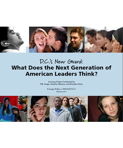 D.C.'s New Guard: What Does the Next Generation of American Leaders Think?