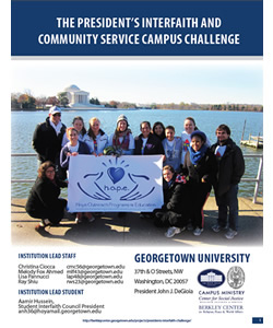 President's Interfaith and Community Service Campus Challenge Year-End Report